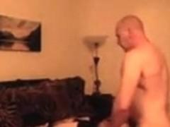 Mature Sex In Living Room
