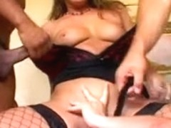 Impure European Doxy receives her Anus Destroyed(Double Anal)