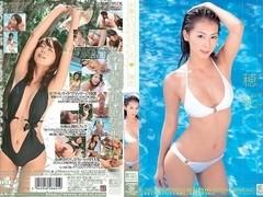 Honoka in Pako Pako Swimsuit