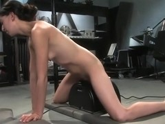 Classy Amber Rayne making her fetish dreams come true