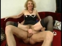 Granny Fancy's Herself A bang Doxy