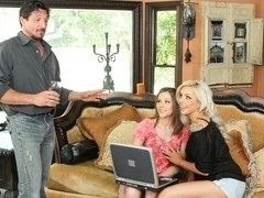 Nina Elle, Brianna Brown, Tommy Gunn in Couples Seeking Girls #18,  Scene #04