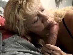 lengthy blond hair granny fucking