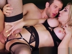 Hot tbabe Eva Paradis gets banged by big dick Spencer Fox