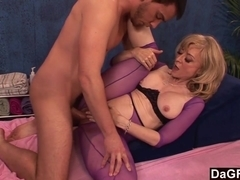 Mature Masseuse Can't Resist A Young Stud's Cock - DaGFs