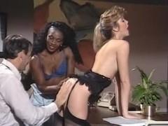 Alicia Monet, Angel Kelly, Barbara Dare in vintage xxx site