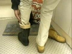 nlboots - shoes - rubber boots - jeans