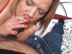The Town Skank Gets My Cock Again