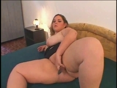 Slutty Corpulent big beautiful woman with large billibongs and shaven Soaked Cum-Hole