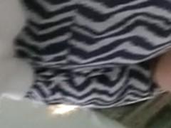 under coworker skirt 3(face)