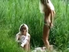 Outdoor Lesbian Sex 01