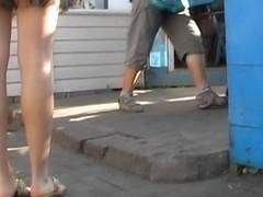 Instinct upskirt video