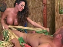 Busty Ariella Ferrera and Danny Mountain in hard session