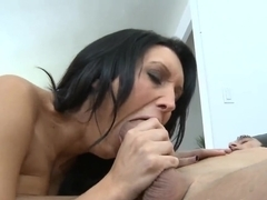 Keiran Lee copulates with ravenous brunette Sandra Romain