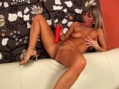 Sexy solo scene by Christina - CzechSuperStars