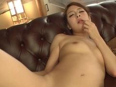 Nana Ninomiya in Make Her Squirt, Cum On Her Face Scene