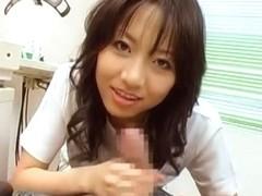 Hottest Japanese whore Kozue Morino in Horny Cougar, Medical JAV scene