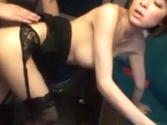 Exotic Japanese whore Yuzu Shiina in Crazy Reality, Threesomes JAV scene