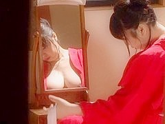 Hot mature Asian milf Aya Kitagawa enjoys masturbation