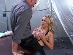 Johnny Sins gets a hot titjob from Nikki Benz
