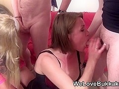 Made up wench watches ally take facual cumshots