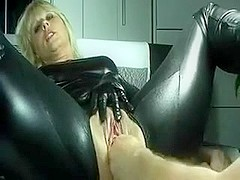 lovely mature acquires fisted all the way