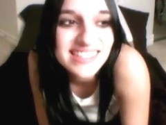 Great webcam show from young chick