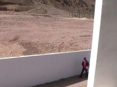 Aurita in travel sex video with a horny guy and a hot lassie