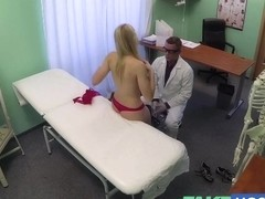 FakeHospital Super sexy curvy blonde accepts dirty doc