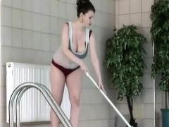 The Busty Pool Lady - K. Hart