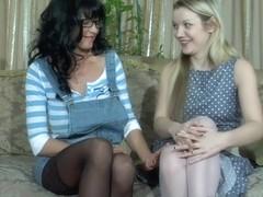 LadiesKissLadies Movie: Christiana and Connie
