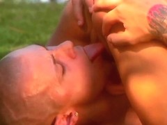 Unthinkable outdoor sex with hot woman Kirsten Price