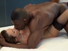 Top Notch Babe Takes a Top Notch Black Cock