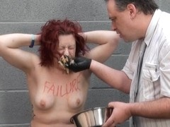 Extraordinary Immodest Food Humiliation of Isabel Dean