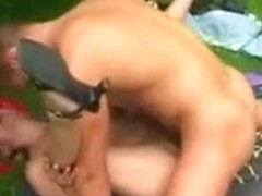 mommy and lad sex in garden