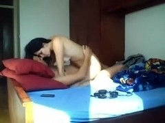 Adorable hottie nailed in Indian girlfriend sex movie