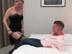 Julia Pink is a slutty, mature blonde who likes rock hard dicks and facial cumshots