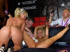 Ashley Fires & Amy Brooke in Stage Presents Video