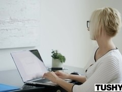 TUSHY Hot ###ary Kate England Gets Anal from Client