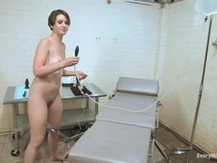 Anal Audition Sarah Shevon plugs her enema