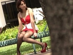 PantyhosePops Video: Nickey Huntsman