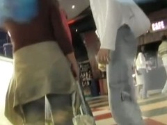 The sexiest ass shots caught by a hot cam at the local mall