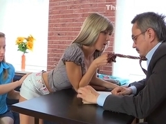 Prodigious doll gets drilled hard