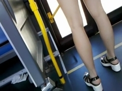 Bus Cam 14: Sexy Asian Legs