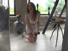 Incredible pornstars Samantha Bentley, Chelsey Lanette in Amazing Facial, Stockings xxx video