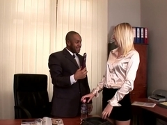 Hottest pornstar in crazy blonde, interracial adult clip