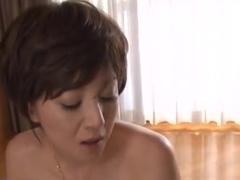 Ai Komori hot mature Asian chick gets in some facesitting