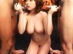 Fabulous Japanese girl in Exotic Rimming, Big Tits JAV clip