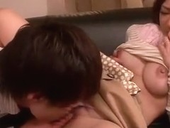 Exotic Japanese girl Minori Hatsune in Crazy Big Tits JAV clip