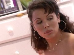 Fabulous pornstar in incredible big tits, brunette adult scene